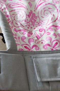Carry Them Close // Tula Baby Carrier - Rose + Suck Pads // baby carrier // structured carrier
