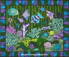 Jewels of the Sea Quilt Pattern