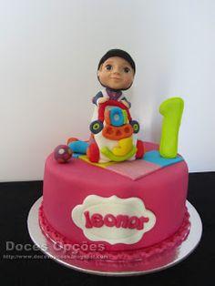 Doces Opções: Bolo do 1º aniversário da Leonor