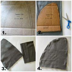 DIY shark fin sewing tutorial would it work for merman fin?