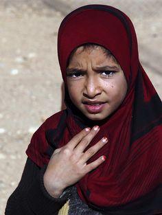 Girl from Hama - Hama, Hamah - .Syria