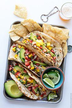 Slow Cooker Chicken Tacos/