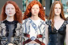Louis Vuitton pone de moda teñirse de pelirroja!
