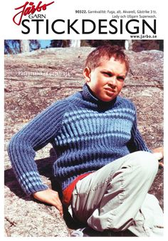 Cool boy's sweater.