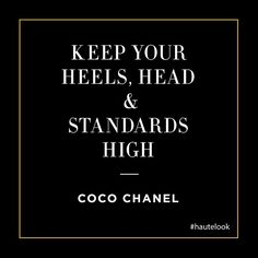 In honor of Coco Chanel's birthday!