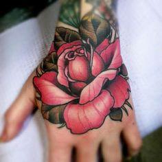 Hand Tattoo photo - www.worldtattoogallery.com/hand_tattoos