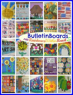 Bulletin Board Ideas:)
