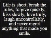 LIVE Your ONE & ONLY Life !
