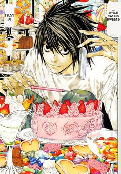 L's appetite - Deathnote