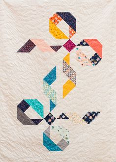 Twice Tied Quilt by Kim Andersson