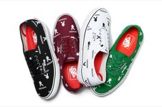 Collection #Vans x #Supreme x #Playboy