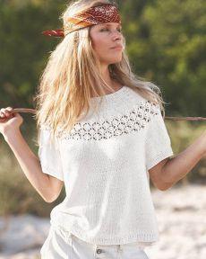 Summer Knitting, Knitting Yarn, Knitting Patterns Free, Knit Patterns, Pulls, Knit Dress, Knit Crochet, Sweaters, Shirts