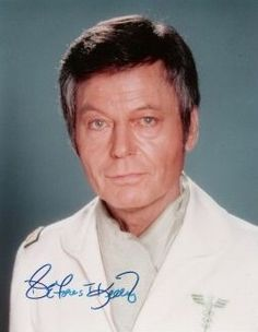 Picture of DeForest Kelley