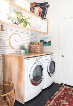 26 Stylish Laundry Room Design Ideas | ComfyDwelling.com