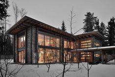 Дом «Ловушка для солнца» (Traps for the sun) в России от Архитектурной мастерской Белоусова Н.В.
