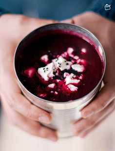 beet soup with feta and cumin http://lapetitecasserole.com