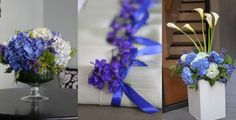 Loved this blue wedding