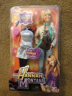 NEW in Packages  Miley Cyrus and Hannah Montana Dolls Fashion Collection #disney