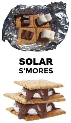Make s'mores without fire!  Fun science for kids. #solarsmores #solaroven #solarsmoresforkids #scienceexperimentskids #growingajeweledrose Desserts For A Crowd, Fall Desserts, Delicious Desserts, Educational Activities For Kids, Summer Activities For Kids, Stem Activities, Kids Fun, Summer Kids, Science Experiments Kids