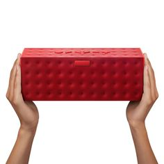 Electronics brand Jawbone have launched a larger and louder version of their wireless Jambox speaker, designed by creative director Yves Behar to fill a large space with sound.