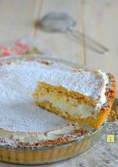 Crostata paradiso, golosa e irresistibile, facile da fare Italian Cake, Italian Desserts, Fun Desserts, Delicious Desserts, Dessert Recipes, Food Cakes, Cupcake Cakes, Torte Cake, Bakery Recipes