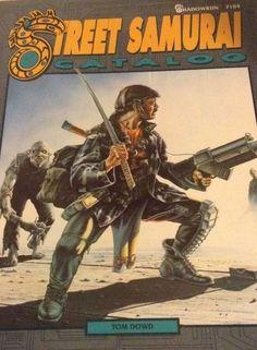Street Samurai Catalog Shadowrun 7104 Tom Dowd 1989 FASA #FASA