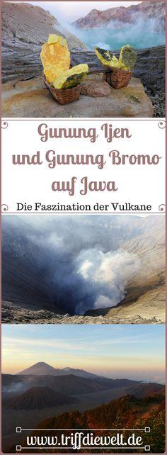 Indonesien hat mehr als nur einen beeindruckenden Vulkan. Die Vulkane Gunung Ijen und Gunung Bromo auf Java sind zwei absolute Highlights der Insel.