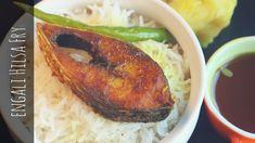 Ilish Maach Bhaja or Hilsa (machli) fish fry is a iconic Bengali Authentic Maach bhaja recipe to try on this Bengali new year (Pohela Boishak). Ilish maach o. Bengali Fish Recipes, Indian Food Recipes, Veg Starter Recipes, Fried Fish, Fish Fry, Seafood Recipes, Dinner Recipes, 2 Ingredient Recipes, Fish Varieties