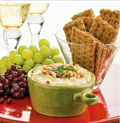 Easy Christmas Party Food Ideas - Bacon and Blue Cheese Dip - Click Pic for 20 Delicious Holiday Appetizer Recipes