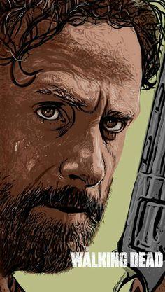 GORGEOUS Art of Rick Grimes VERSION 1