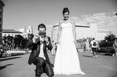 Post boda urbano in Barcelona