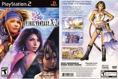 Final Fantasy X-2 Video Game Cover Boxart