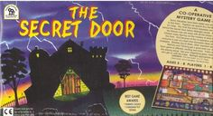 The Secret Door -- A fun mystery game for the whole family! Children enjoy figuring out the mystery of what is behind the Secret Door. Everyone works together as a team to a plan strategies, while building memory and logic skills. A Parents' Choice Award winner. (age 5 to 8)