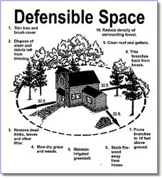 fire safety clip art--black & white line drawing of a