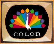 getting a color TV was a BIG deal...remember the color peacock announcing a show was in color...not all were