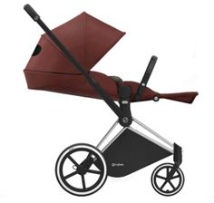 Cybex PRIAM Stroller Review - one hand recline fold easily stroller