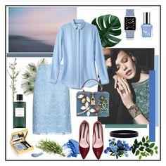"""Serenity"" by misskarolina ❤ liked on Polyvore featuring Casetify, NARS Cosmetics, CB2, Hermès, Dolce&Gabbana and L. Erickson"