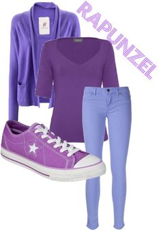 A fashion look from March 2013 featuring Alexon tops, Friendly Hunting cardigans and Rich & Skinny jeans. Browse and shop related looks. Princess Inspired Outfits, Disney Inspired Fashion, Disney Fashion, Pretty Outfits, Cool Outfits, Fashion Outfits, Ddlg Outfits, Rapunzel Outfit, Teen Fashion Winter