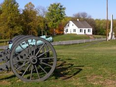 Antietam Battlefield and the Dunker church