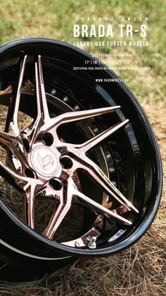 Rims For Cars, Rims And Tires, Wheels And Tires, Car Wheels, Black Chrome Wheels, Gold Wheels, Porsche 997 Turbo, Truck Rims, Aftermarket Wheels