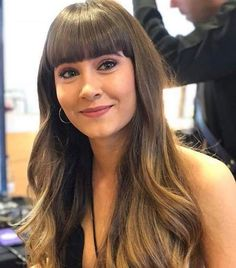 Aitana OT 2017 Thick Bangs, Long Bangs, Squat Results, Stupid Girl, Jen Selter, Monica Brant, Michelle Lewin, Boxing Workout, Female Images