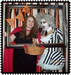 Crafty In Crosby: Halloween Photo Booth