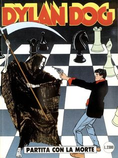 Dylan Dog partita con la morte cover