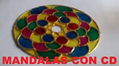 Resultado de imagen para mandalas vitrales en cd Recycling, Youtube, Relax, How To Make, Crafts, Repurpose, Youtube Movies, Upcycle