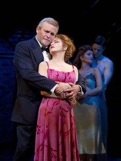 "Ron Raines as Benjamin Stone & Bernadette Peters as Sally Durant Plummer in the 2010 Broadway revival of ""Follies"" singing 'Too Many Mornings'"