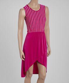 Another great find on #zulily! Plum Tulip Dress - Women by jon & anna #zulilyfinds