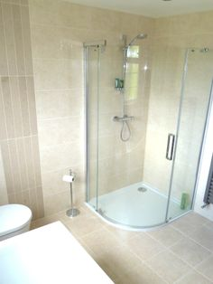 Bathroom area in a completed dormer loft conversion.