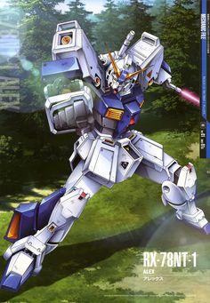 Mobile Suit Gundam Mechanic File - RX-79NT-1 Alex