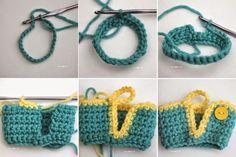 Repeat Crafter Me: Mason Jar Mug Crisco Candles with Crochet Cozy