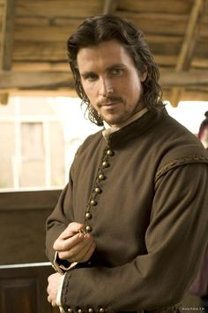 John Rolfe - Christian Bale in The New World (2005). My kind of man <3
